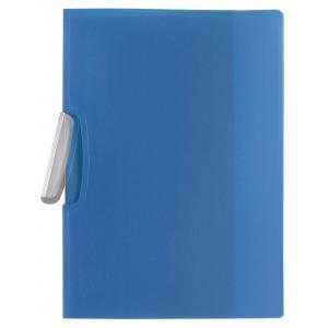 Obal s klipom plastovým Q-Connect modrý