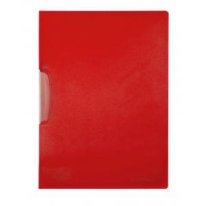 Obal s plastovým klipom červený Q-Connect