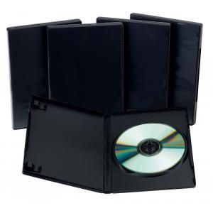 1 DVD box - čierny obal slim