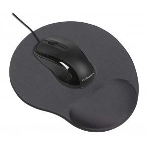 Podložka pod myš s opierkou Q-CONNECT čierna
