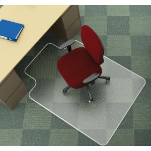 Podložka pod stoličku na koberce v tvare T 122x91,4cm