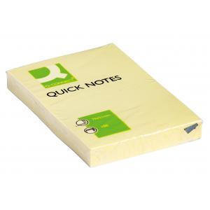 Bloček Q-CONNECT žltý 51 x76mm