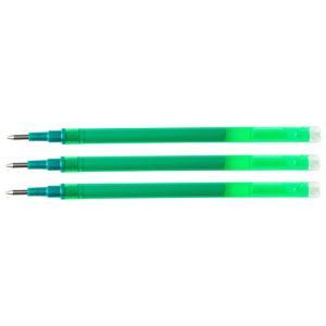 Náhradná náplň do gélového rollera Q-connect 0,7mm zelená3 ks