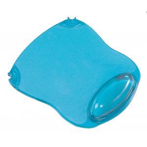 Gélová podložka pod myš a zápästie Q-CONNECT modrá