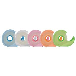 Lepiaca  páska Q-Connect 19mm x 33m s dispenzorom v mixe farieb