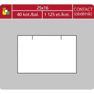 Etikety 16x23 pre1623 cenovka biela