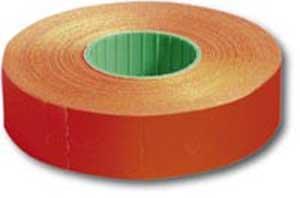 Etikety 16x23 pre1623 cenovka neónovočervená