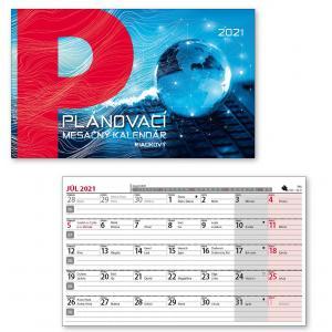 Stolový kalendár Plánovací mesačný 2021