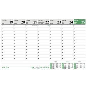 Stolový kalendár Maxi 2021