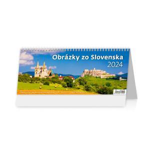 Stolový kalendár Obrázky zo Slovenska 2022