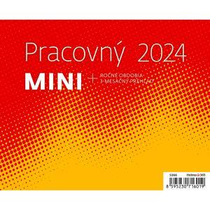 Stolový kalendár pracovný MINI 2021