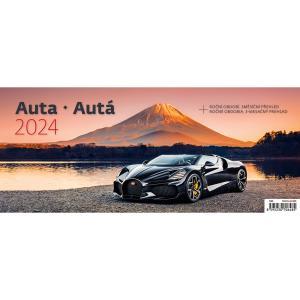 Stolový kalendár Autá 2022