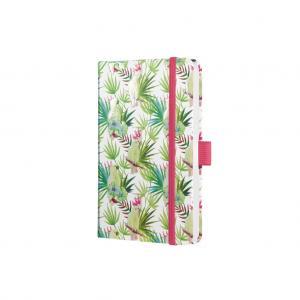 Zápisník JOLIE Limegreen Tropics A6