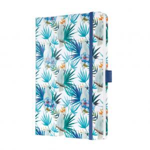Zápisník JOLIE Indigo Tropics A5