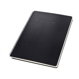 Zápisník CONCEPTUM so špirálou čierny 174x214mm