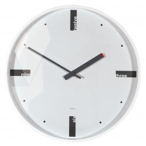 Nástenné hodiny artetempus Acto, biele