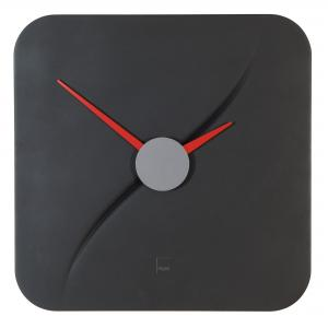 Nástenné hodiny artetempus Kada 35x35cm čierne