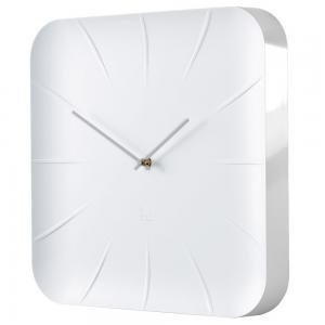 Nástenné hodiny artetempus Inu, biele