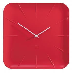 Nástenné hodiny artetempus Inu, červené