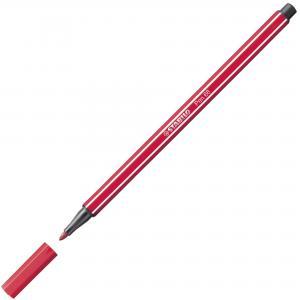 Popisovač STABILO Pen 68 tmavočervený