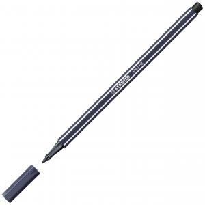 Popisovač STABILO Pen 68 paynový sivý