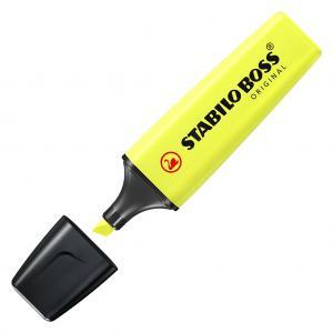 Zvýrazňovač STABILO BOSS original žltý