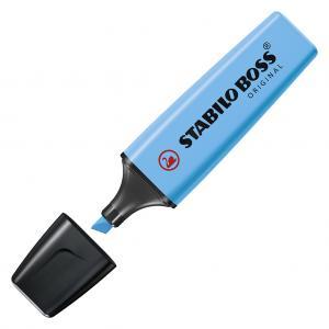 Zvýrazňovač STABILO BOSS original modrý