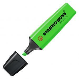 Zvýrazňovač STABILO BOSS original zelený