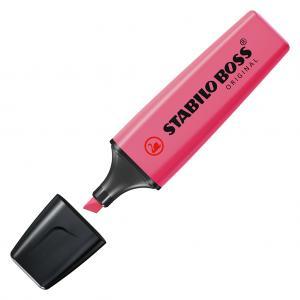 Zvýrazňovač STABILO BOSS original ružový