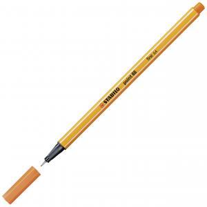 Liner STABILO Point 88 žltočervený