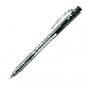 Guľôčkové pero STABILO Liner 308 čierne