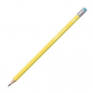 Ceruzka STABILO 160 HB s gumou žltá 12ks