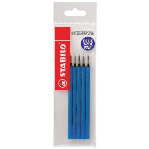 Náplň pre guličkové pero STABILO Marathon 5ks modrá