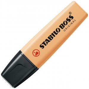 Zvýrazňovač  STABILO BOSS ORIGINAL Pastel pastelová oranžová