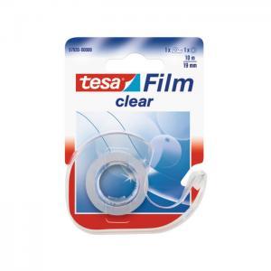 Lepiaca páska TESA clear 19mm x 10m s dispenzorom