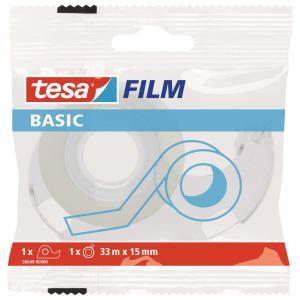 Lepiaca páska TESA basic 15mmx33m s odvíjačom