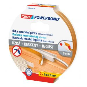 Montážna páska Tesa Powerbond 2x5mx9mm