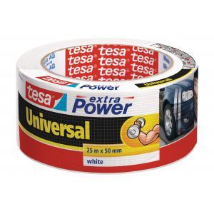 Textilná páska TESA silne lepiaca biela 50mm x 25m