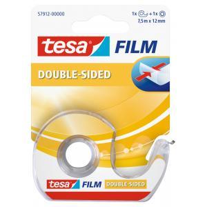 Obojstranná páska TESA 12 mm x 7,5 m s dispenzorom