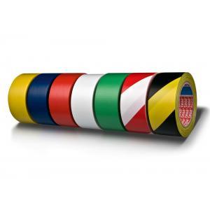 Vyznačovacia páska lepiaca TESA 50mmx33m čierno žltá