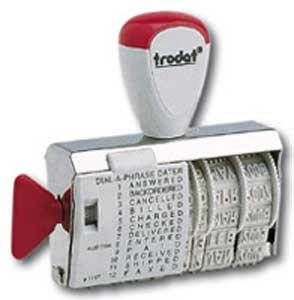 Pečiatka dátumová a textová trodat 1117