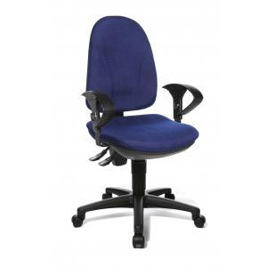 Kancelárska stolička POINT 30 modrá