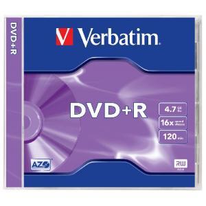 Verbatim DVD+R 16x klas.obal