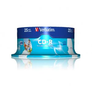 Verbatim CD-R 25 ks printablecake
