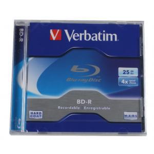 BD-R Verbatim  4x, 25 GB Blu-Ray, klas.obal