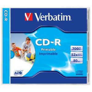 Verbatim CD-R klasický obal printable