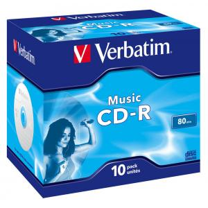 Verbatim CD-R Audio music 80 min. klasický obal