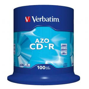 Verbatim CD-R 700 MB cake 100 ks