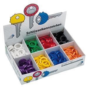Označovacie krúžky na kľúče WEDO mix farieb 200ks