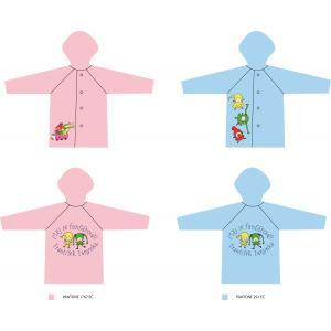 Detský pršiplášť Kúzelná škôlka ružový 3-4 roky